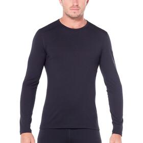 Icebreaker 200 Oasis Longsleeve Crew Shirt Heren, black